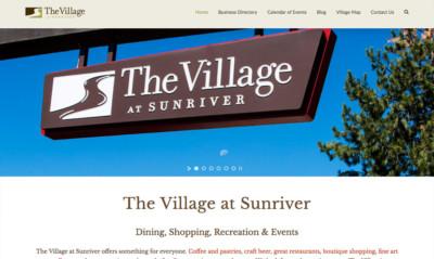Village at Sunriver | Five12 Digital Client
