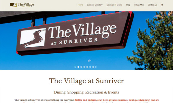 Village at Sunriver | Five12 Digital Client