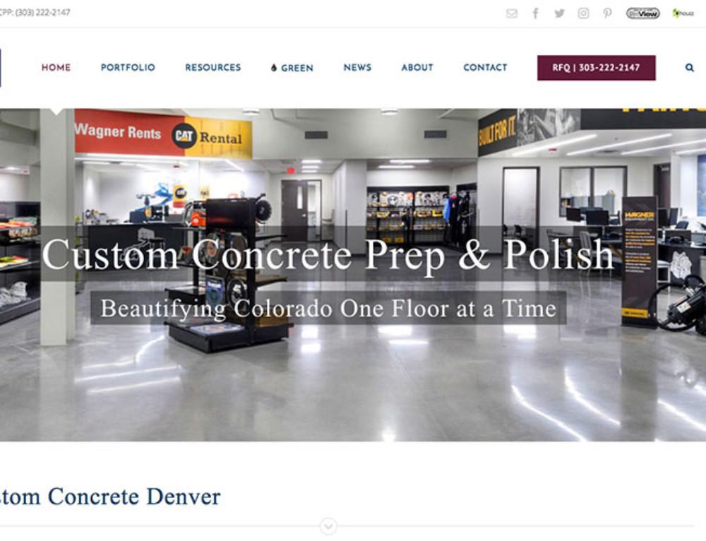 Custom Concrete Prep and Polish